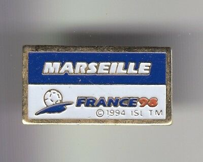 Rare Pins Pin's ..  Football Soccer World Cup France 98 Stade Marseille 13 ~Dy