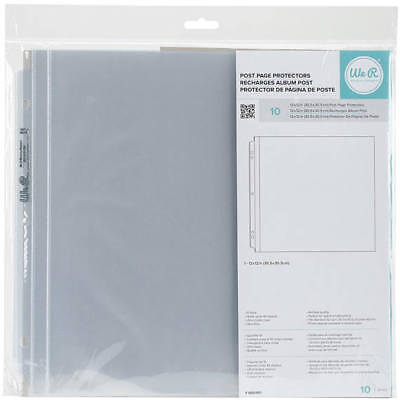 We R Memory Keepers Post Page Protectors 10-pack 12x12in