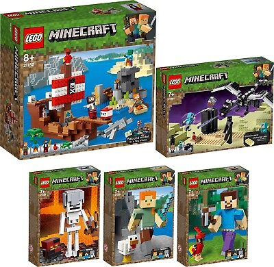 LEGO® Minecraft™ Full Collection  21152 21151 21150 21149 21148 BigFig N2/19
