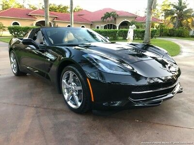 2014 Corvette Stingray 2014 Chevrolet Corvette Stingray 7 Speed Manual 2-Door Coupe