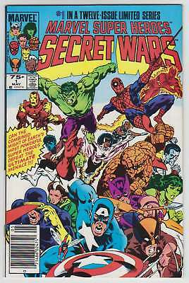 L8535: Marvel Super Heroes Secret Wars #1, Vol 1, VF/VF+ Condition