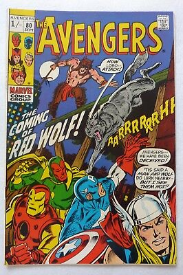The Avengers 80 Silver Age 1970 VFN++ Condition