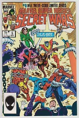 L8539: Marvel Super Heroes Secret Wars #5, Vol 1, NM/M Condition