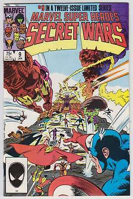 L8543: Marvel Super Heroes Secret Wars #9, Vol 1, NM/M Condition