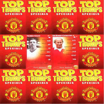 Top Trumps Single Card Manchester United Football Club - Various Players