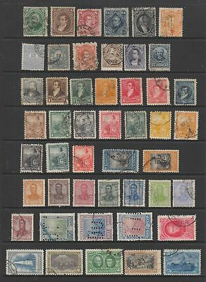 Argentina early - mid period collection, 164 stamps
