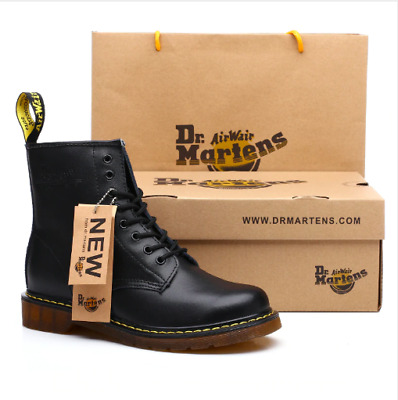 2019 Classic Dr. Martens AirWair Scarpe Donna Stivali Boots Smooth Nuove Alte