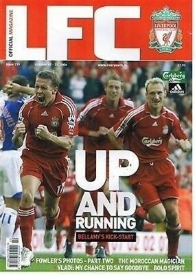 LFC Weekly Official Liverpool Football (Soccer) Magazine – Various Issues