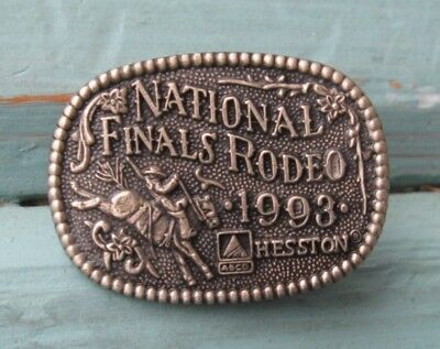 1993 HESSTON NATIONAL FINALS RODEO Hat or Lapel Pin
