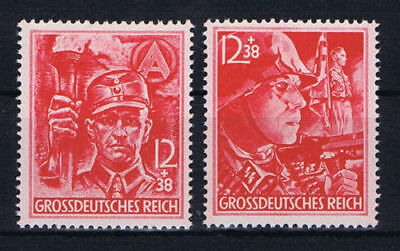 Germany Deutsches Reich 1945 Mi. Nr. 909-910 SA and SS Final 3rd Reich Issue MNH
