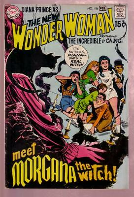 Wonder Woman #186 1970- Diana Prince I-Ching Obscure Dc Vf