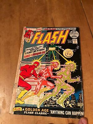 Dc Comics - Flash #216 (June 1972) Fn - 52 Pages