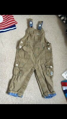 Ted Baker Boys Dungarees 12-18 Months