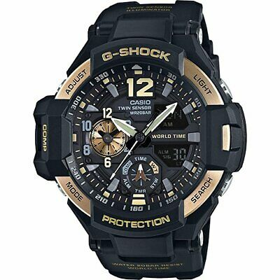 Casio G-Shock Black Dial Resin Quartz Men's Watch GA1100-9G