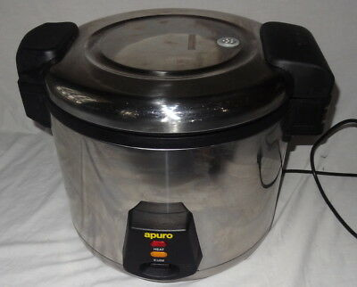 Apuro J300-A Commercial Rice Cooker 13/6L 240V RRP$245!