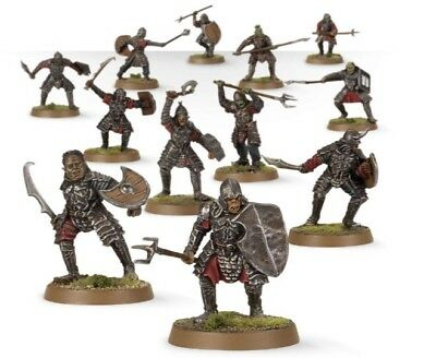Lord Of The Rings 12 Morannon Orcs LOTR Games Workshop Pelennor GW