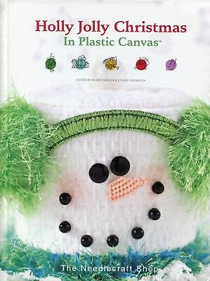 Holly Jolly Christmas in Plastic Canvas  ~ 50+ Festive Patterns Projects RARE