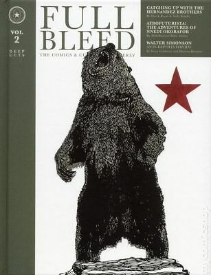 Full Bleed: The Comics and Culture Quarterly HC (IDW) 2-1ST 2018 FN Stock Image