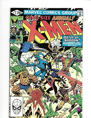 X-MEN ANNUAL #5 OCT 1981 1st App PATHFINDERS KING-SIZED WHITE PAGES MARVEL