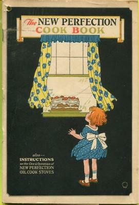 Vtg Instruction Manual/Recipe Booklet Adv New Perfection Oil Cook Kitchen Stove