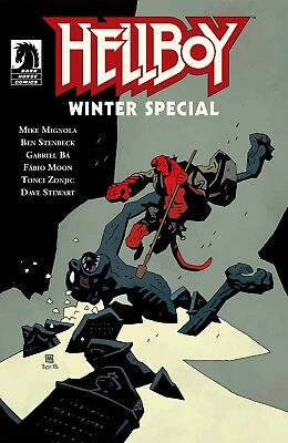 Hellboy Winter Special 2018 Main Cover A VF/NM STOCK PHOTO Dark Horse Comics