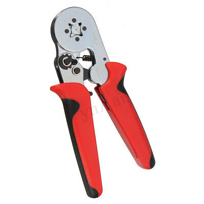 Ferrule Crimper Crimping Plier Wire Terminal Self Hand Tool 0.25-10 (mm²) UK