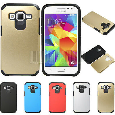 Slim Fit Hybrid Shockproof Hard Case Protective Cover Dual Layer Rubber Skin