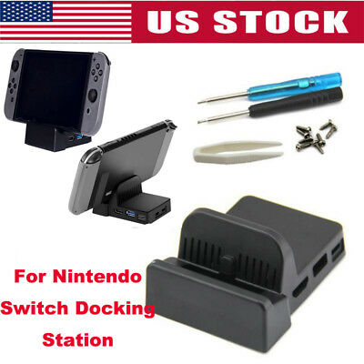 For Nintendo Switch Docking Station Mini Replacement Dock Case Cover DIY Stand