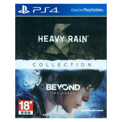 Heavy Rain and Beyond Two Souls Collection PS4 2018 Chinese English Sealed