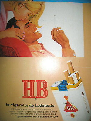 Other Breweriana Breweriana, Beer Publicite 1968 Flash Cigarettes