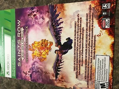 Saints Row Gat Out Of Hell Devils Workshop Pack - Xbox 360 - Dlc Add On