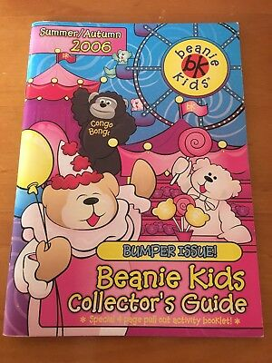 Beanie Kids Collectors Guide Summer/Autumn 2006 Bumper Issue