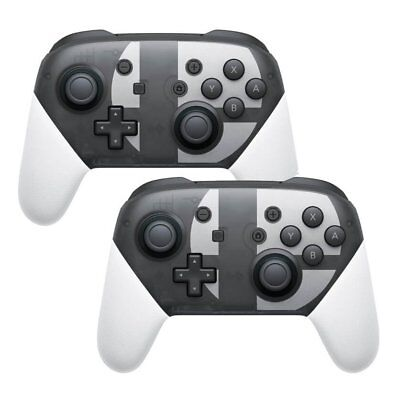 2x Manette de jeu sans fil Bluetooth Pro pour Nintendo Switch Super Smash Bros.