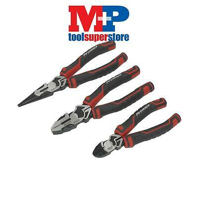 Sealey AK8376 Pliers Set High Leverage 3pc