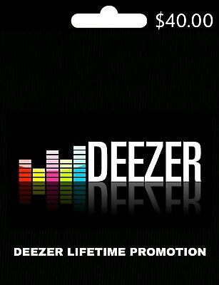 🎧 Deezer Premium+ Lifetime Account (🌍WORLDWIDE🌎) ALL DEVICES 📱💻🖥...