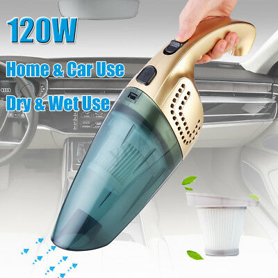 2in 1 Home Hand Held Wet & Dry Car Van Caravan Truck Vacuum Dust Cleaner Hoover