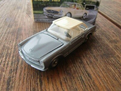 DINKY Toys France 516 MERCEDES 230 SL PAGODE silber W 113 1964 kein Atlas Box !