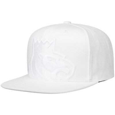 low priced 7ac52 c38b6 ... shop mitchell ness sacramento kings white cropped xl logo snapback  adjustable hat 27aec b8bb3