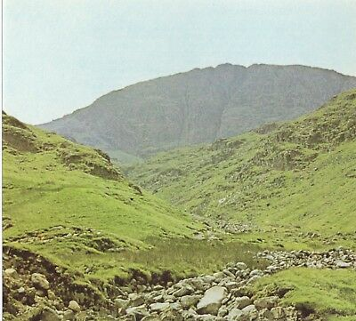 Great End From Grains Gill Lake District Cumbria Vintage Print 1974 CBOTLD#51
