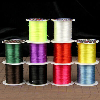 1pcs 1mm 10M Shock Stretchy Elastic Crystal String Beading Cord Thread Wire