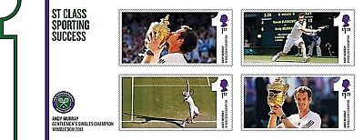 GB Stamps 2013 'Andy Murray' MS3511 - U/M