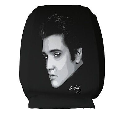 Gorilla Face Design Car Seat Head Rest Covers Pack Of Two Accessory Gift