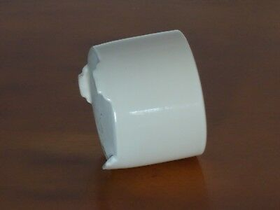 Rare Antique Chinese White Porcelain Tripod Calligraphy Bitong Brush Pot / Cup