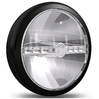 Cibie Mini Oscar LED Round Spotlight 145mm Full Black 600 Lumen