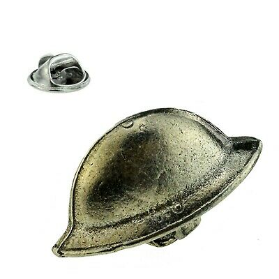 WW1 Tommy Helmet Pin Badge Pewter Word War 1 100 Year Anniversary Souvenir Lapel