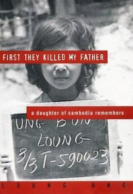 First They Killed My Father: A Daughter of Cambodia Remembers-ExLibrary