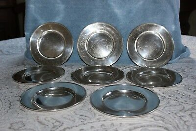 Sterling Silver Gorham Desert, Bread and Butter Plates (8)