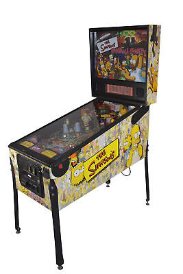 The Simpson Pinball Party Stern Flipper