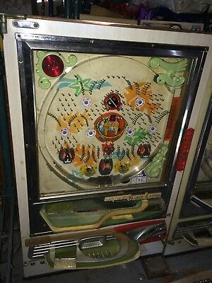 2 Vintage Nishijin Pachinko Games,Sumo Wrestling,Monkey Alligator Coconut