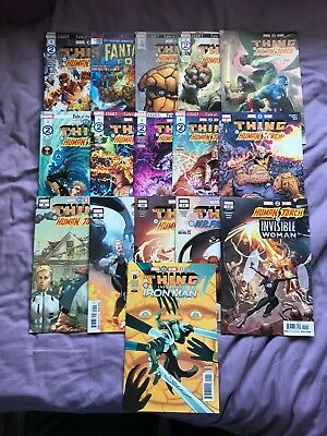 Marvel 2 in 1 issues 1-12+variants (2018 series,Zdarsky/Cheung/Schiti/Perez)